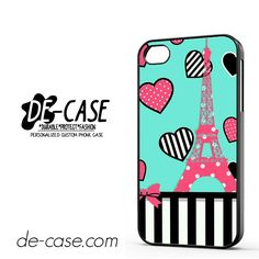 Cute Effel Tower DEAL-2911 Apple Phonecase Cover For Iphone 4 / Iphone 4S