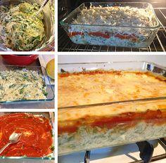 Spaghetti Squash Casserole recipe  Vegetarian comfort food!