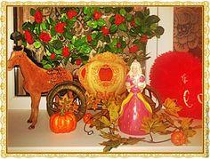 Мастерим из фетра карету-тыкву для Золушки - Ярмарка Мастеров - ручная работа, handmade
