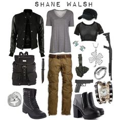 Shane Walsh - Walking Dead (AMC) inspired outfit by shadowsintime on Polyvore