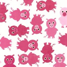 Ann Kelle - Urban Zoologie Part 3 - Pigs in Pink  For Mom! :)