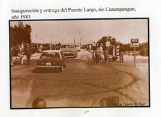 Inaguracion Puente  Carampangue