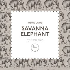 Harlequin - Amazilia Collection from Couture Living, available in Animals theme fabric in Brown, this fabric is suitable for Curtains or Roman Blinds available in Elephant Curtains Or Roman Blinds, Animal Prints, Back Home, Safari, Elephant, Couture, Animal Patterns, Elephants, Haute Couture
