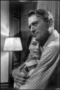 Ava Gardner and Gregory Peck on the set of 'On the Beach', Australia, 1959. Photo by Wayne Miller.