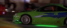Two Fast Two Furious, The Furious, Fast And Furious, Paul Walker Car, Paul Walker Tribute, Eclipse Neon, Wallpaper Iphone Neon, Custom Muscle Cars, Street Racing Cars