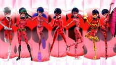 New Ladybug Transformations! -Miraculous Ladybug Speededit - Famous Last Words Les Miraculous, Miraculous Ladybug Wallpaper, Miraculous Ladybug Fan Art, Catnoir And Ladybug, Ladybug And Cat Noir, Ladybug Crafts, Dessin My Little Pony, Marinette E Adrien, Miraculous Characters