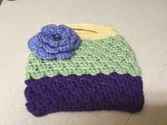 Crocheted Accessories Bag - pinned by pin4etsy.com