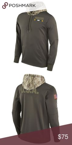 Nike Green Bay Packers Salute to Service Hoodie NWT 7ced630a0