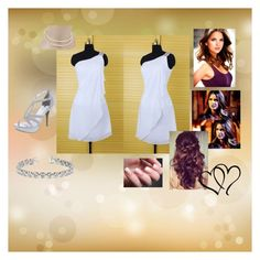 """""""Isabelle's Dress"""" by jamiloveyew on Polyvore featuring Allurez, Mikimoto and Retrò"""