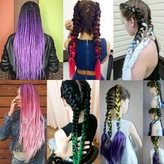 Hair Extensions & Wigs 3 Tone Ombre Jumbo Braid Silk Hair Extension For Women Girl Cosplay Party Show Kanekalon Jumbo, Kanekalon Braiding Hair, Jumbo Braiding Hair, Jumbo Braids, Crochet Hair Extensions, Synthetic Hair Extensions, Braid In Hair Extensions, Black Girl Braids, Girls Braids