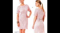 Crochet Patterns  for free  crochet dress  1421