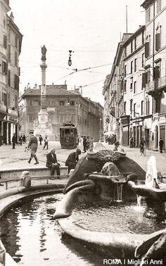Piazza di Spagna 1915