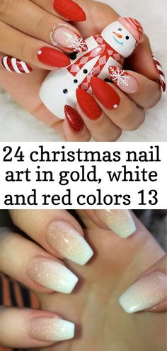 French Fade Nails, Faded Nails, Christmas Nail Art, Gold Christmas, Ombre Style, Baby Boomer, Easter Nails, Red Color, Nail Colors