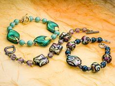 Molto Buono Bracelets, FREE idea at Artbeads.com