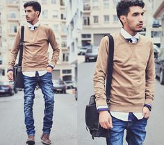 Work is not a job (by Mohcine Aoki) http://lookbook.nu/look/3618987-Work-is-not-a-job