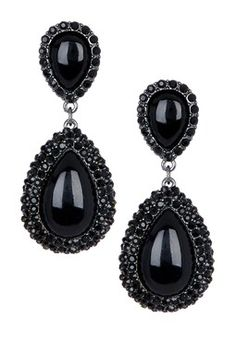 Black Chandelier Earring | Chandelier Ideas