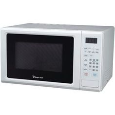 Magic Chef 1.1 Cubicft 1000watt Microwave With Digital Touch White
