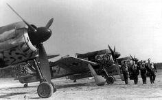 Focke-Wulf Fw 190A fighter.