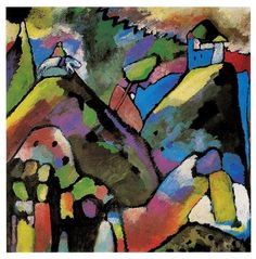 Wassily Kandinsky, Improvisation 9, 1910, oil on canvas, 110 x 110 cm