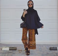 Likes, 109 Comments – Leena Ha (leenalghouti… Unique Fashion, Trendy Fashion, Girl Fashion, Fashion Outfits, Fashion Design, Hijab Casual, Hijab Chic, Islamic Fashion, Muslim Fashion