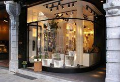 Bos Bloemen flower store by Juma Architects Ghent