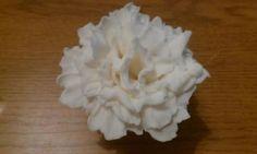 How to make a Gumpaste carnation` - by Treatsensation @ CakesDecor.com - cake decorating website