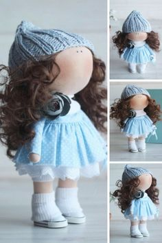 Bambole Baby doll Tilda doll Handmade doll by AnnKirillartPlace