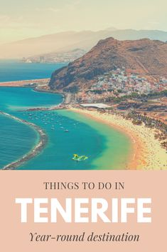 One week in Tenerife and all the things to do in Tenerife Canary Islands. All the must see places in Tenerife and a one week itinerary for Tenerife island. #tenerife #canaryislands