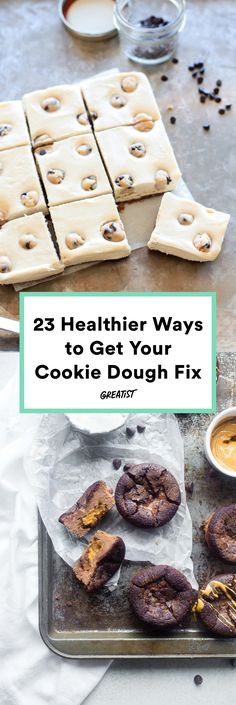 No raw eggs here! #greatist http://greatist.com/eat/cookie-dough-recipes-that-are-safe-to-eat