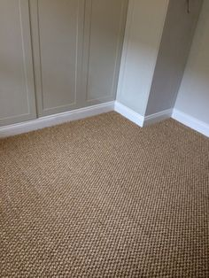 To supply & install sisal to a bedroom Home Carpet, Wall Carpet, Rugs On Carpet, Red Carpets, Carpet Staircase, Basement Carpet, Living Room Area Rugs, Living Room Carpet, Brown Carpet Bedroom