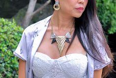 Ankti necklace by gemma simone