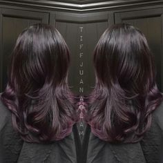 Hair Color How To: Black Cherry by Tiffany Galaviz