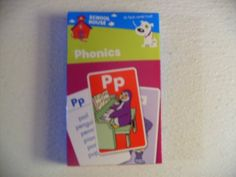 School House 36 Phonics Flash Cards by School House. $3.80. Using Flash Cards Makes Learning Phonics (Basic Letter Sounds) More Fun. Ideal For Individuals Or Small Groups.