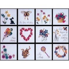 Lake City Craft Co Quilling Kit, Gift Tags, All Occasions, Kit #244, NEW #LakeCityCraftCo