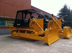 The logging type bulldozer