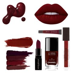 """""""Untitled #30"""" by danielafigueroa012 on Polyvore featuring Serge Lutens, Lime Crime, Smashbox, Chanel and NARS Cosmetics"""