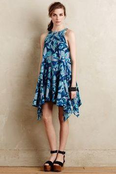 Eva Franco Arborea Swing Dress #anthrofave
