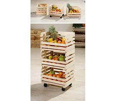 Minya Small Fruit and Vegetable Storage Rack