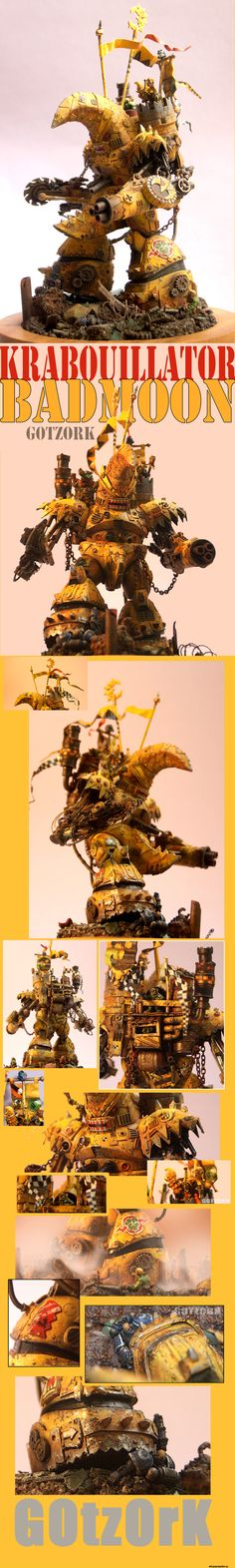 orks,warhammer 40000,фэндомы,Miniatures (WH 40000)
