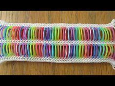 Totally Tubular Bracelet Rainbow Loom hook only (Original Design) - YouTube