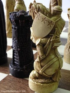 Battle of Bannockburn Plain Theme Chess Set