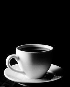 black, black coffee
