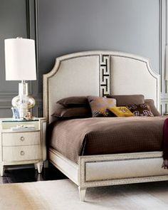 """""""Carlton"""" Bedroom Furniture - traditional - beds - by Horchow"""