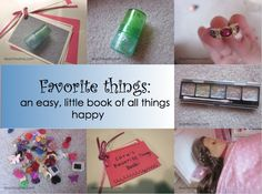 what if this was a 'favorite things about mom' (or grandma/ nanny) for mothers day?