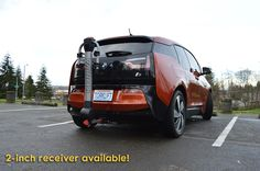 You'll never believe what's available! We are releasing the 2017 #BMW i3 #EcoHitch. Just in time for all your biking adventures, get yours today.
