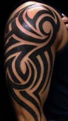 9046377d2 Left Arm Tattoos, Sleeve Tattoos, Shoulder Tattoo, Shoulder Sleeve, Tribal  Tattoos,