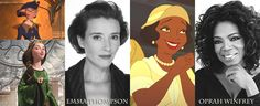 Disney Characters and their voice actor/actresses ^^OMG I HAD NO IDEA THAT EMMA THOMPSON WAS ELINOR OMG OMG