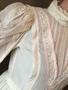 Laura Ashley Wedding Dresses | Vintage-Victorian-Style-Laura-Ashley-Cotton-Lace-Wedding-Dress-70s ...