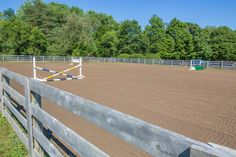 Charlton equestrian estate in New York - outdoor riding arena