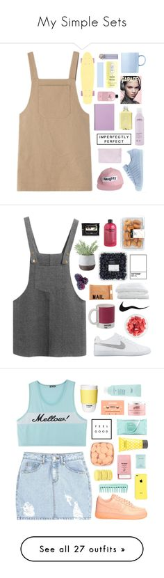 """My Simple Sets"" by dreaming-away-your-life ❤ liked on Polyvore featuring Rosenthal, Aveda, philosophy, adidas, H2O+, LANAxUO, Chicnova Fashion, W2 Products, Crate and Barrel and NIKE"
